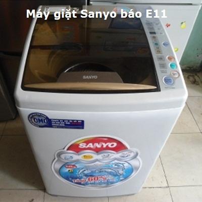 Lỗi E11 ở máy giặt Sanyo