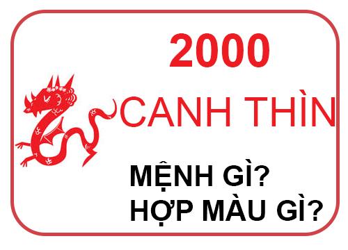 sinh nam 2000 menh gi