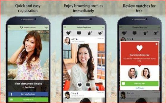 VietnamCupid – ứng dụng hẹn hò nổi tiếng tại Việt Na